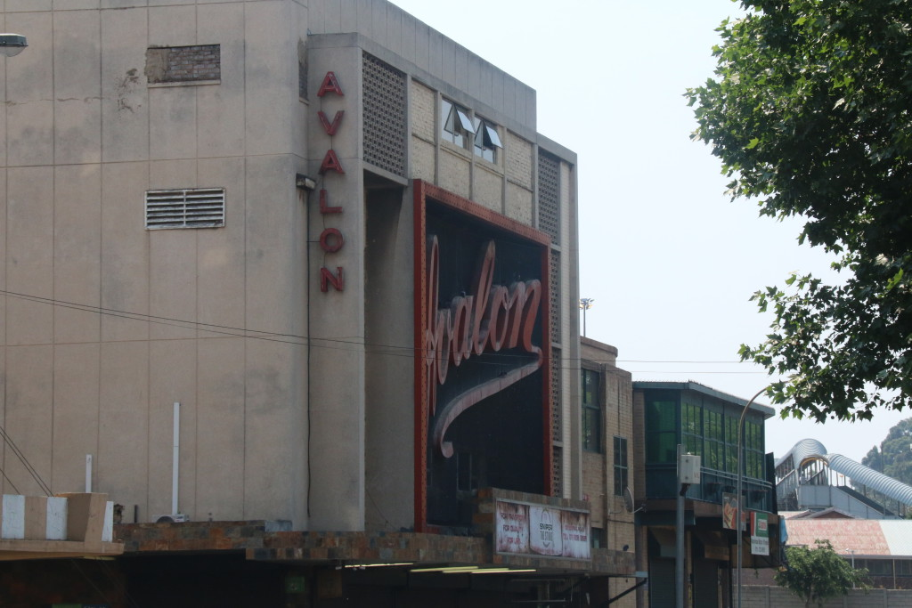 The Avalon cinema. Photo: Katleho Sekhotho