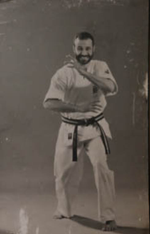 KARATE MASTER: Solly Said (Soke) in his early years of training. Photo: Queenin Masuabi
