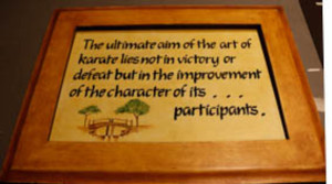 KARATE: This is the true philosophy behind karate according to Said. Photo: Queenin Masuabi