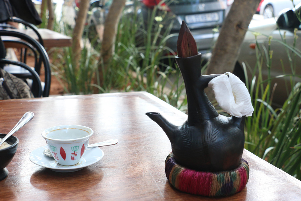 GENIE: Jebena is used to boil coffee. Photo: Boipelo Boikhutso